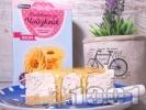 Рецепта Чийзкейк с орехи, течна сметана, сирене крема и мед